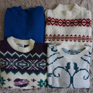 Vintage 80s Sweater Bundle